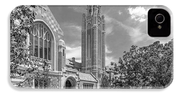University Of Chicago Saieh Hall For Economics IPhone 4s Case by University Icons