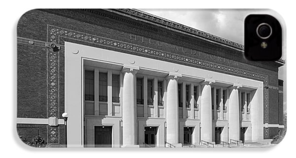 University Of Michigan Hill Auditorium IPhone 4s Case by University Icons