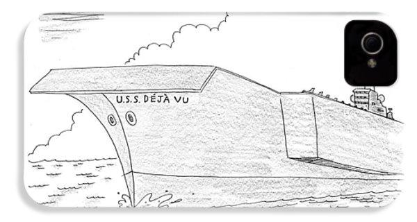 U.s.s. Deja Vu IPhone 4s Case by Mick Stevens