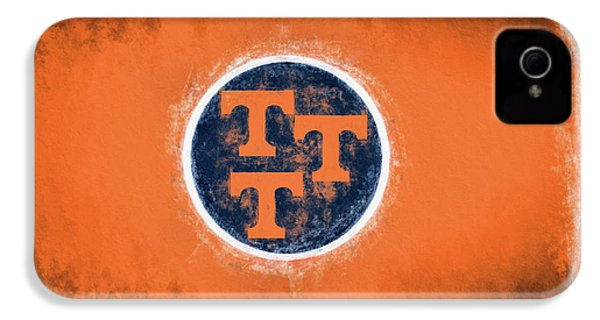 IPhone 4s Case featuring the digital art Ut Tennessee Flag by JC Findley