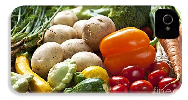 Vegetables IPhone 4s Case by Elena Elisseeva