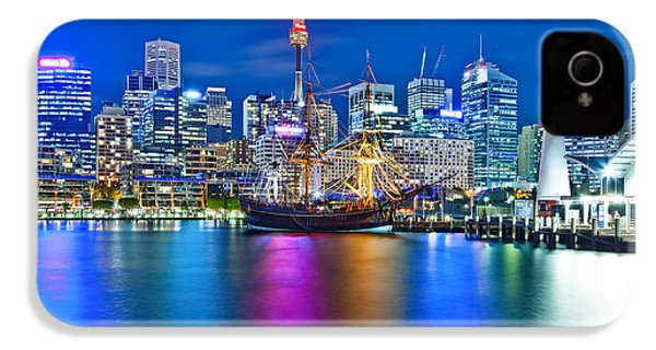 Vibrant Darling Harbour IPhone 4s Case by Az Jackson