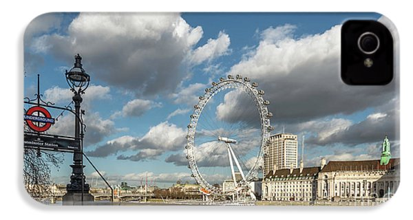 Victoria Embankment IPhone 4s Case by Adrian Evans