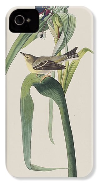 Vigor's Warbler IPhone 4s Case by John James Audubon