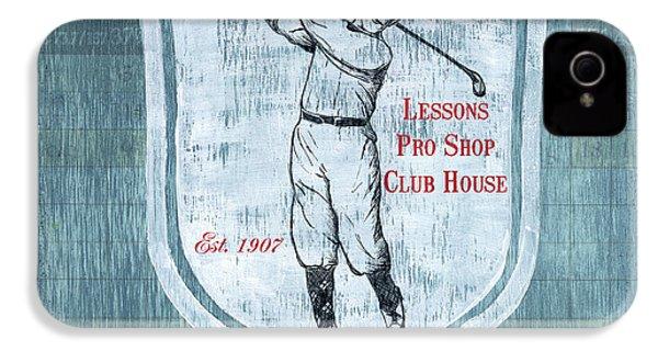 Vintage Golf Blue 1 IPhone 4s Case