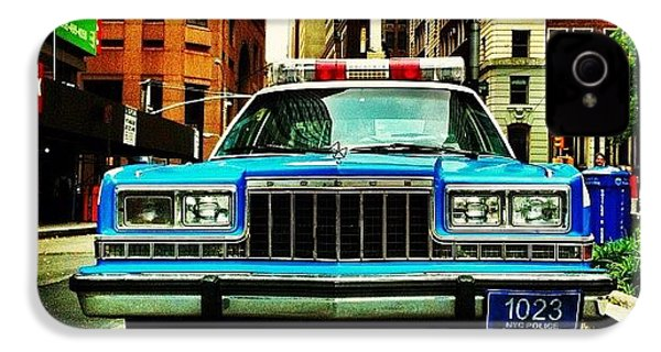 Vintage Nypd. #car #nypd #nyc IPhone 4s Case by Luke Kingma