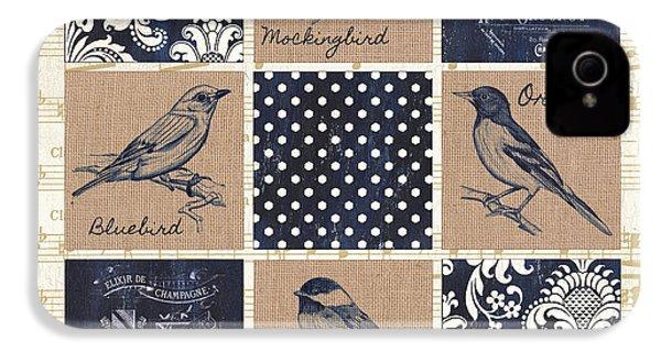 Vintage Songbird Patch 2 IPhone 4s Case
