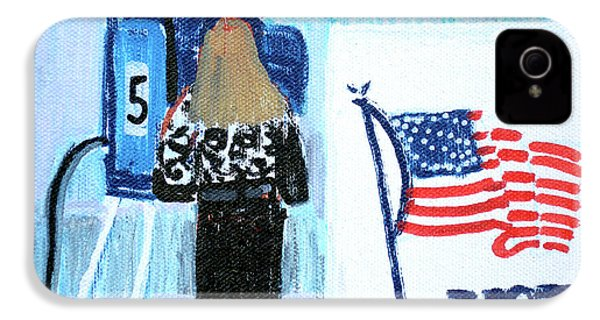Voting Booth 2008 IPhone 4s Case by Candace Lovely
