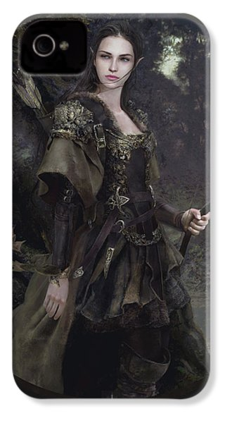 Waldelfe IPhone 4s Case by Eve Ventrue