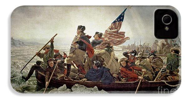 Washington Crossing The Delaware River IPhone 4s Case by Emanuel Gottlieb Leutze