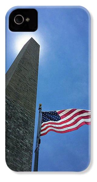Washington Monument IPhone 4s Case by Andrew Soundarajan
