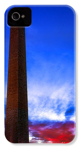 Washington Monument Glory IPhone 4s Case by Olivier Le Queinec