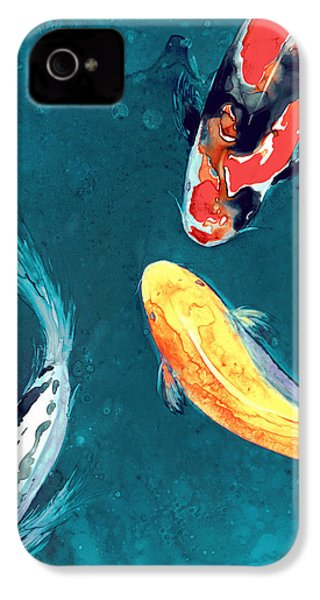 Water Ballet IPhone 4s Case by Brazen Edwards