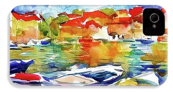 Watercolor Boats By Svetlana Novikova ( IPhone 4s Case