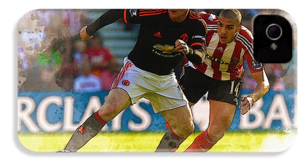 Wayne Rooney Is Marshalled IPhone 4s Case by Don Kuing