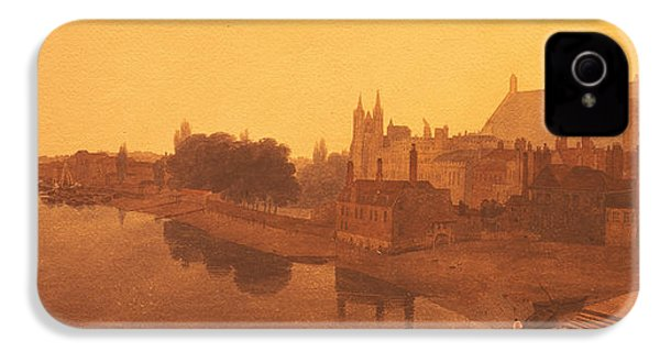 Westminster Abbey  IPhone 4s Case by Peter de Wint