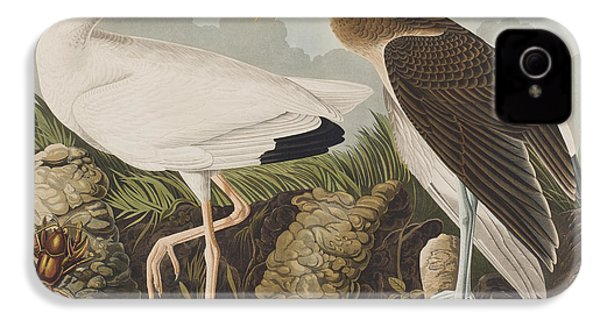 White Ibis IPhone 4s Case by John James Audubon