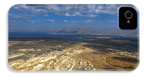 Wide View From Masada IPhone 4s Case by Dubi Roman