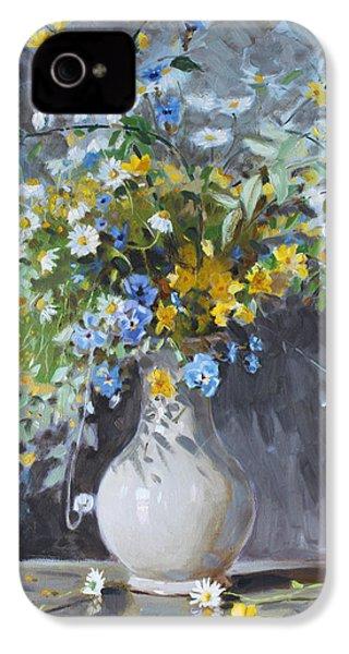 Wild Flowers IPhone 4s Case by Ylli Haruni