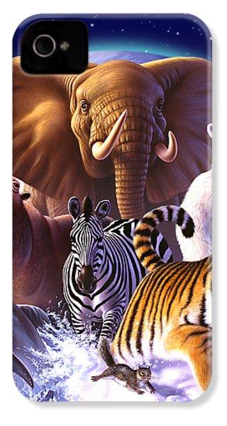 Wild World IPhone 4s Case by Jerry LoFaro