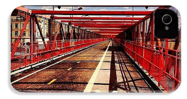 Williamsburg Bridge - New York City IPhone 4s Case by Vivienne Gucwa