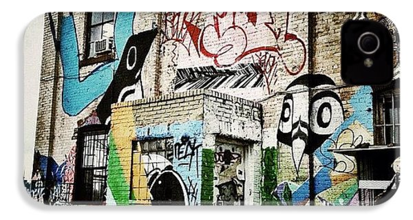 Williamsburg Graffiti IPhone 4s Case by Natasha Marco