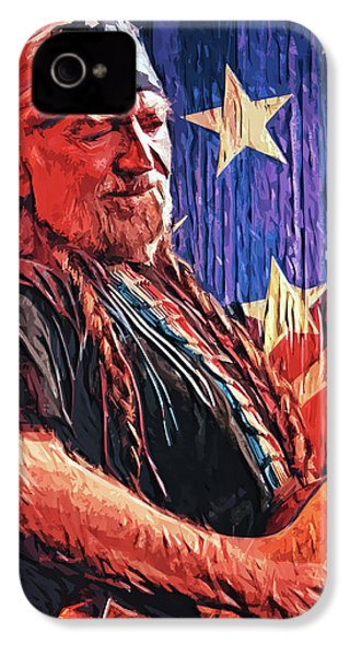 Willie Nelson IPhone 4s Case