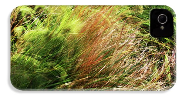 Windblown Grasses IPhone 4s Case by Nareeta Martin