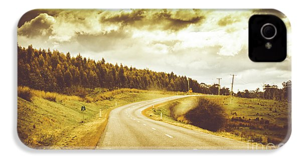 Window To A Rural Road IPhone 4s Case by Jorgo Photography - Wall Art Gallery
