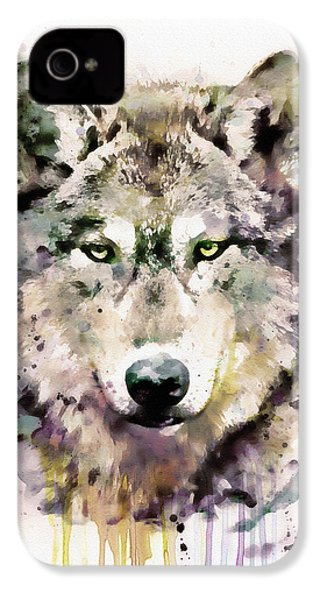 Wolf Head IPhone 4s Case