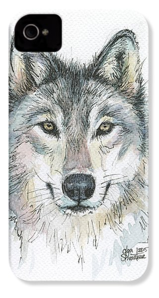 Wolf IPhone 4s Case