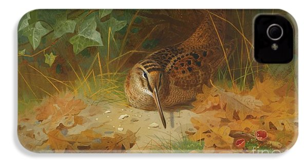 Woodcock IPhone 4s Case by Celestial Images