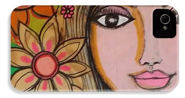 Working On A New #girliegirl On IPhone 4s Case by Robin Mead
