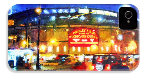 Wrigley Field Home Of Chicago Cubs IPhone 4s Case