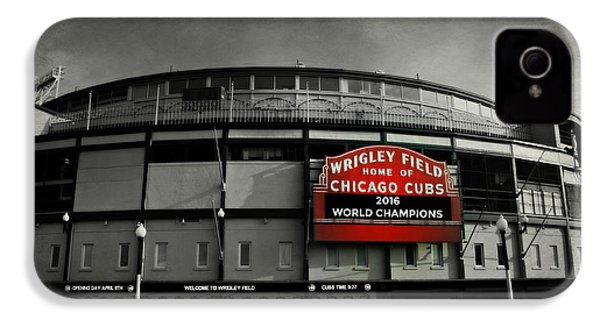Wrigley Field IPhone 4s Case by Stephen Stookey