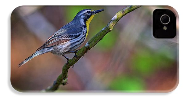 Yellow-throated Warbler IPhone 4s Case by Rick Berk
