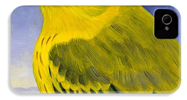 Yellow Warbler IPhone 4s Case by Francois Girard
