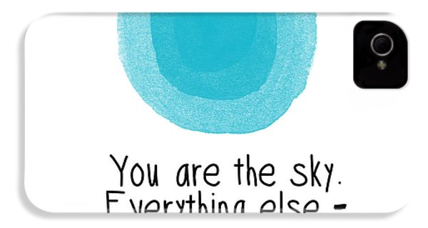 You Are The Sky IPhone 4s Case by Linda Woods