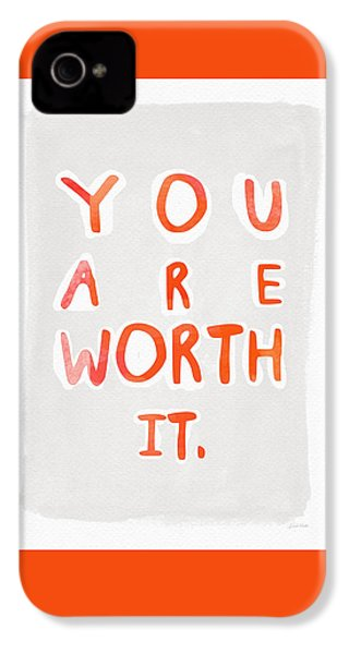 You Are Worth It IPhone 4s Case