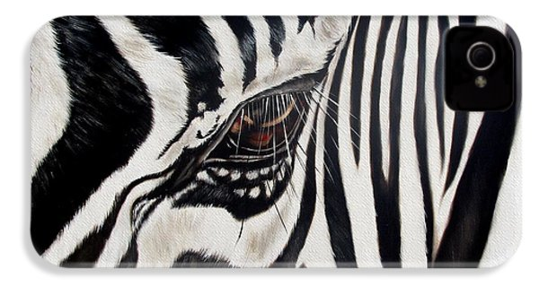 Zebra Eye IPhone 4s Case