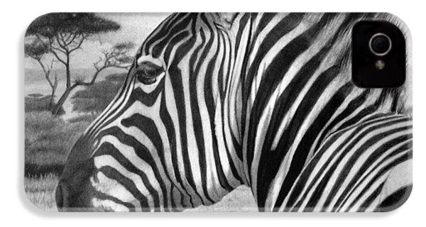 Zebra IPhone 4s Case by Tim Dangaran