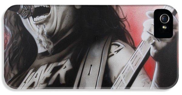 Slayer - ' Arhhhhhhhh ' IPhone 5 Case by Christian Chapman Art