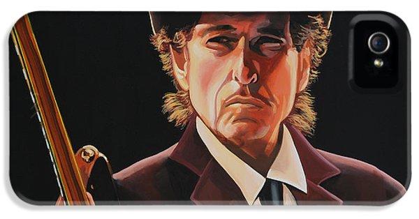 Bob Dylan 2 IPhone 5 Case by Paul Meijering
