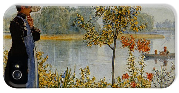 Indian Summer IPhone 5 Case by Carl Larsson