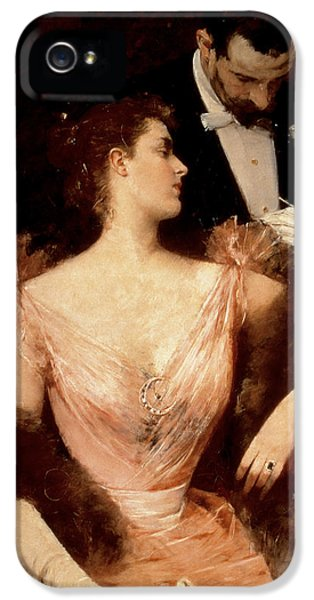 Invitation To The Waltz IPhone 5 Case by Francesco Miralles Galaup