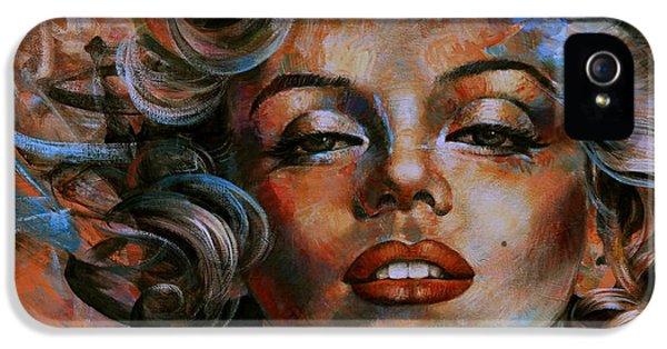 Marilyn Monroe IPhone 5 / 5s Case by Arthur Braginsky