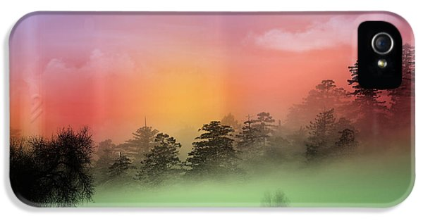 Mist Coloring Day IPhone 5 Case by Mark Ashkenazi