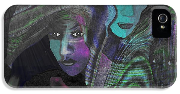 788 - Palestine Mother - Gaza Bombing In 2012 And 2014 IPhone 5 Case by Irmgard Schoendorf Welch