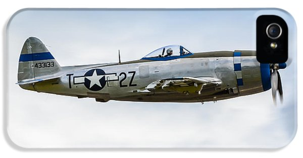 Republic P-47d Thunderbolt IPhone 5 Case by Puget  Exposure