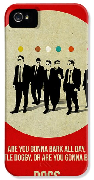 Reservoir Dogs Poster IPhone 5 Case